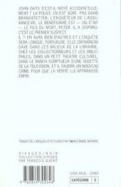 Le Noye D'Arena Blanca - 4ème de couverture - Format classique