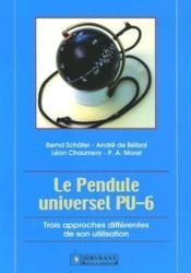 Le pendule universel PU-6 - Couverture - Format classique
