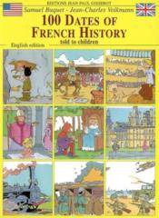 100 Dates Of French History - Couverture - Format classique