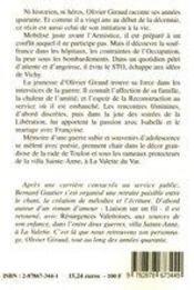 A Travers Les Annees Quarante - 4ème de couverture - Format classique