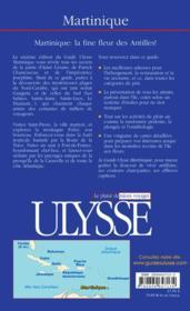 Martinique 6e Edition (6e édition) - 4ème de couverture - Format classique
