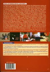Prevention, securite ; sante a l'ecole de a a z... - 4ème de couverture - Format classique
