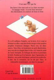 A La Recherche De Nino-Dino - 4ème de couverture - Format classique