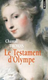 Vente  Le testament d'Olympe  - Chantal Thomas
