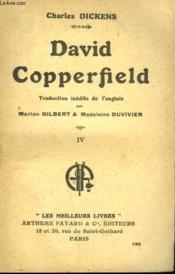 David Copperfield. Tome 4. Collection : Les Meilleurs Livres N° 128. - Couverture - Format classique