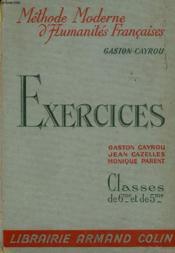 Exercices - Classes De 6° Et De 5° - Couverture - Format classique
