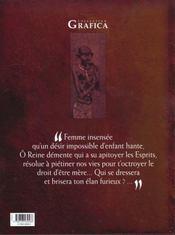 Hariti t.1 ; un ventre aride - 4ème de couverture - Format classique