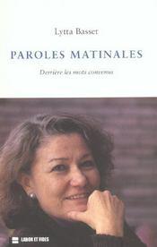 Paroles Matinales: Derriere Les Mots Convenus - Intérieur - Format classique