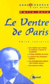 Le ventre de Paris d'Emile Zola - Intérieur - Format classique