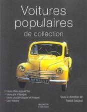 Voitures populaires de collection - Intérieur - Format classique