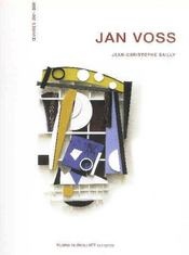 Vente livre :  Jan Voss ; oeuvres  2001-2008  - Jean-Christophe Bailly