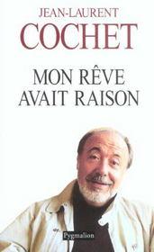 Mon Reve Avait Raison (Ne) (édition 2003) - Intérieur - Format classique