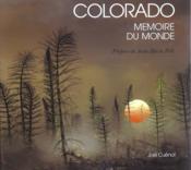 Colorado Memoire Du Monde - Couverture - Format classique