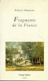 Fragments De La France - Couverture - Format classique