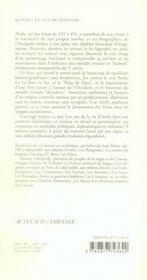 Attila ; Le Roi Des Huns Au-Dela Du Mythe - 4ème de couverture - Format classique