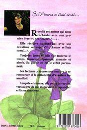 Si L'Amour M'Etait Conte... - 4ème de couverture - Format classique
