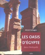 Les Oasis D'Egypte Dans L'Antiquite - Intérieur - Format classique