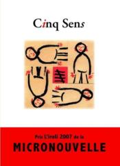 Cinq sens - Couverture - Format classique