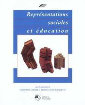 Representations Sociales Et Education - Intérieur - Format classique