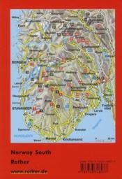 Norway south ; the finest fjord and moutain walks - 4ème de couverture - Format classique