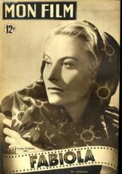Mon Film N° 162 - Fabiola - Couverture - Format classique