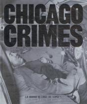 Vente livre :  Chicago crimes  - Anonyme