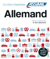 Coffret cahiers d'exercices allemand t.1  - Collectif