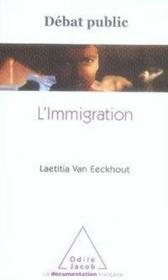 L'immigration - Couverture - Format classique