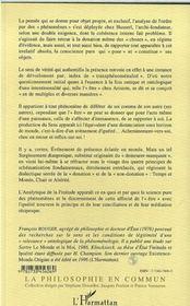 L'Evenement De Monde : Essai Sur Les Conditions Pures De La Phenomenalite - 4ème de couverture - Format classique