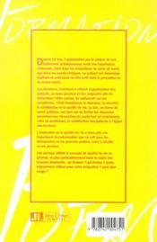 Évaluation du handicap dans les troubles dépressifs ; utilisation du concept de qualité de vie - 4ème de couverture - Format classique