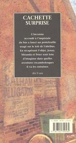 Cachette surprise - 4ème de couverture - Format classique