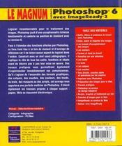 Le Magnum Photoshop 6 - 4ème de couverture - Format classique