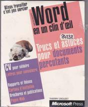 Word - Couverture - Format classique