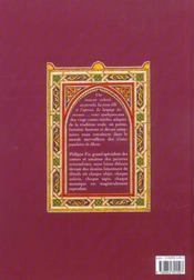 Contes populaires du Maroc - 4ème de couverture - Format classique