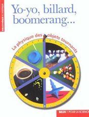 Yo Yo Boomerang Billard Et Autres .. - Intérieur - Format classique