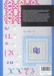 Methode De Calligraphie Moderne - 4ème de couverture - Format classique
