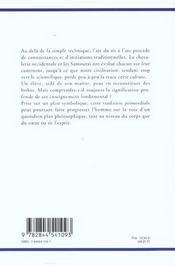 Chevalerie Et Symbolisme Du Tir A L'Arc - 4ème de couverture - Format classique