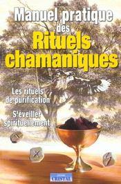 Manuel pratique des rituels chamaniques - Intérieur - Format classique