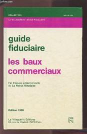 Baux Commerciaux (Guide) - Couverture - Format classique