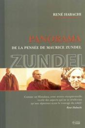 Panorama pensee maurice zundel - Couverture - Format classique