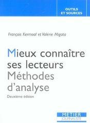 Mieux Connaitre Ses Lecteurs (2e Ed) (2e édition) - Intérieur - Format classique