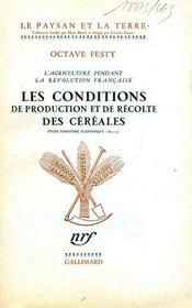 L'agriculture pendant la Révolution française: les conditions de production et de récolte des céréales. - Intérieur - Format classique