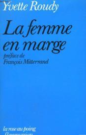 La Femme En Marge. - Couverture - Format classique
