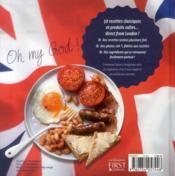 Les meilleures recettes from London - 4ème de couverture - Format classique