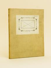 Exposés de M. C. Siegel (mai 1937) sur les nombres transcendants. Rédaction de Ch. Pisot.[ Manuscrit d'un élève de l'Ecole Normale Supérieure en 1937 ] - Couverture - Format classique