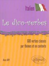 Italien Le Dico-Verbes 600 Verbes Classes Par Themes Et En Contexte - Intérieur - Format classique