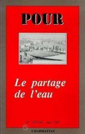 Partage De L'Eau - Couverture - Format classique