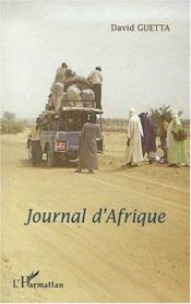 Journal d'Afrique - Couverture - Format classique