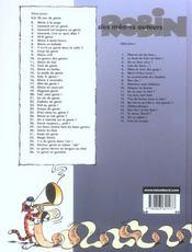 Leonard t.36 ; le genie se gondole - 4ème de couverture - Format classique