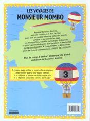 Les voyages de monsieur Mombo - 4ème de couverture - Format classique